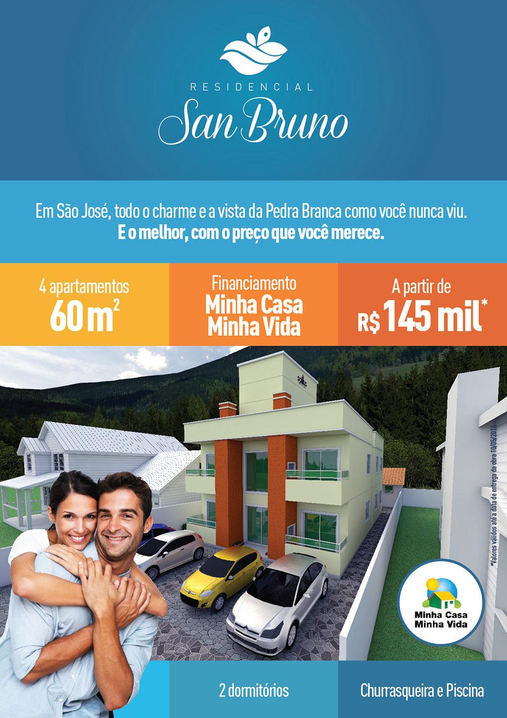 Sollus SC Empreendimentos e Reformas Residencial San Bruno Grande Florianópolis